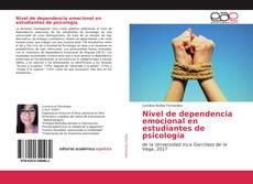 Обложка Nivel de dependencia emocional en estudiantes de psicología