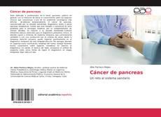 Capa do livro de Cáncer de pancreas