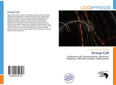 Bookcover of Group Call