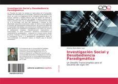 Portada del libro de Investigación Social y Desobediencia Paradigmática