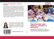 Обложка Conciliación vida laboral , familiar y personal