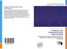Portada del libro de Product and Manufacturing Information