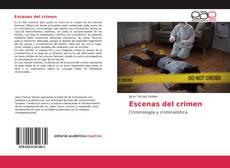 Buchcover von Escenas del crimen