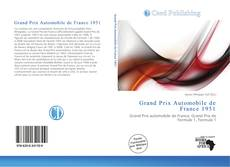 Grand Prix Automobile de France 1951 kitap kapağı