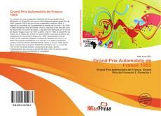 Buchcover von Grand Prix Automobile de France 1953