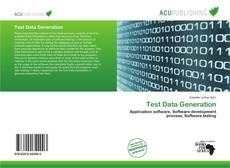 Test Data Generation的封面