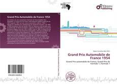 Buchcover von Grand Prix Automobile de France 1954