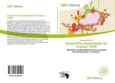 Buchcover von Grand Prix Automobile de France 1959