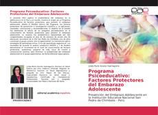 Обложка Programa Psicoeducativo: Factores Protectores del Embarazo Adolescente