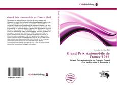 Grand Prix Automobile de France 1965的封面