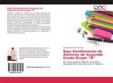"""Buchcover von Bajo Rendimiento de Alumnos de Segundo Grado Grupo """"B"""""""
