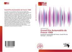 Обложка Grand Prix Automobile de France 1968
