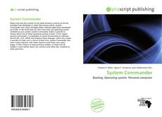 Bookcover of System Commander