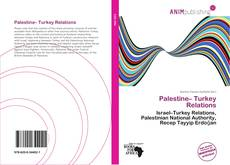 Bookcover of Palestine– Turkey Relations