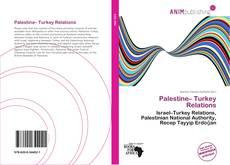Обложка Palestine– Turkey Relations