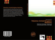 Bookcover of Palestine–United Kingdom Relations