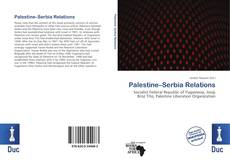 Bookcover of Palestine–Serbia Relations