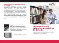 Portada del libro de Implementación Programa De Hábitos De Estudio