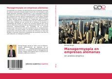 Portada del libro de Managermyopia en empresas alemanas