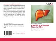 Portada del libro de Complicaciones De Litiasis Biliar