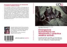 Portada del libro de Emergencia humanitaria en Venezuela y práctica médica actual.