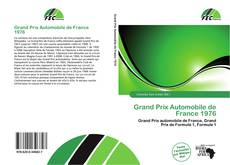 Обложка Grand Prix Automobile de France 1976