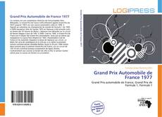 Grand Prix Automobile de France 1977 kitap kapağı