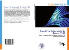 Обложка Grand Prix Automobile de France 1980