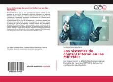 Portada del libro de Los sistemas de control interno en las MIPYME: