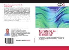 Portada del libro de Estructuras de retención de sedimentos