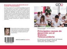 Bookcover of Principales causas de deserción en el Sistema Telesecundaria