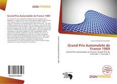Bookcover of Grand Prix Automobile de France 1989