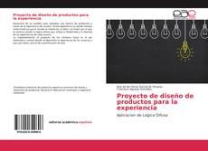 Portada del libro de Proyecto de diseño de productos para la experiencia
