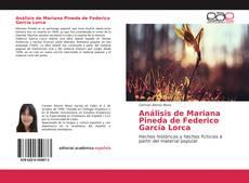 Bookcover of Análisis de Mariana Pineda de Federico García Lorca