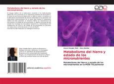 Обложка Metabolismo del hierro y estado de los micronutrientes