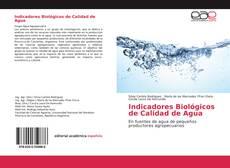 Couverture de Indicadores Biológicos de Calidad de Agua