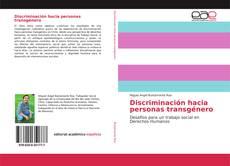 Copertina di Discriminación hacia personas transgénero