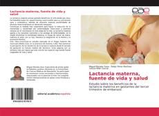 Portada del libro de Lactancia materna, fuente de vida y salud