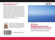 Buchcover von Análisis biogeoquímicos del Mediterráneo Oriental