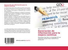 Couverture de Generación de información para la mejora continua