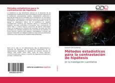 Portada del libro de Métodos estadísticos para la contrastación de hipótesis