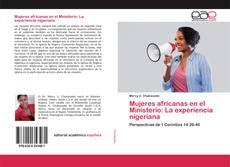 Capa do livro de Mujeres africanas en el Ministerio: La experiencia nigeriana