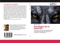Buchcover von Psicología de la agresión