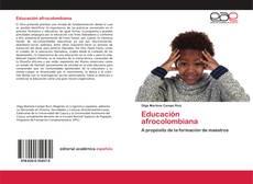 Capa do livro de Educación afrocolombiana