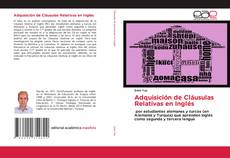 Capa do livro de Adquisición de Cláusulas Relativas en Inglés
