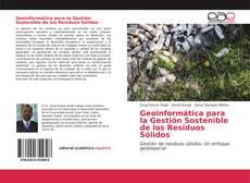 Portada del libro de Geoinformática para la Gestión Sostenible de los Residuos Sólidos