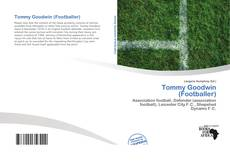 Capa do livro de Tommy Goodwin (Footballer)