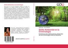 Portada del libro de Delito Ambiental en la Criminología