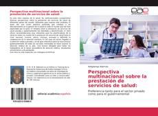Portada del libro de Perspectiva multinacional sobre la prestación de servicios de salud: