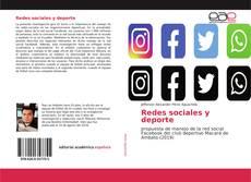 Portada del libro de Redes sociales y deporte